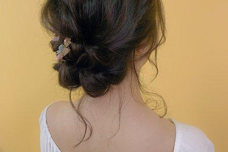 Lisa阿黎彩妝造型[新秘髮型]❤️