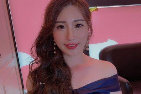 lisa阿黎彩妝造型 「婚禮現場·苗栗海上鮮」