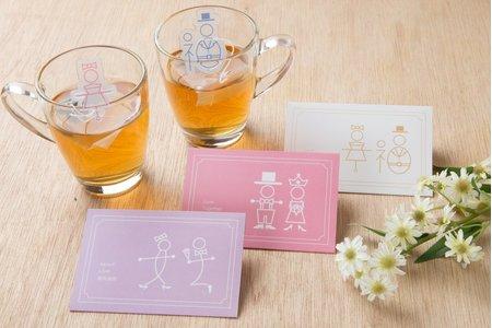 婚禮小物-三款混搭創意茶包(99組)