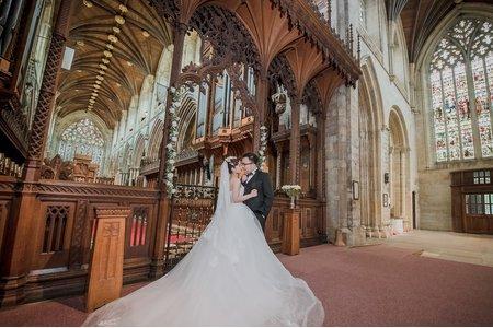 「海外婚紗」 周杰倫婚禮教堂 英國 約克婚紗