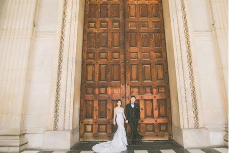 「海外婚紗」 倫敦婚紗