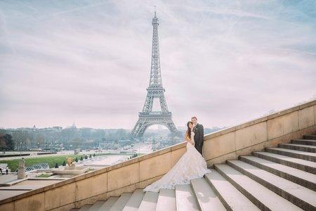 法國巴黎婚紗