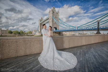 倫敦塔橋婚紗