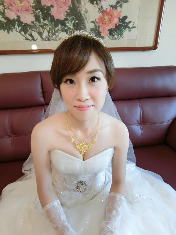 (編號:418636) - 亞澐 Wedding 新娘秘書 整體彩妝 - 結婚吧