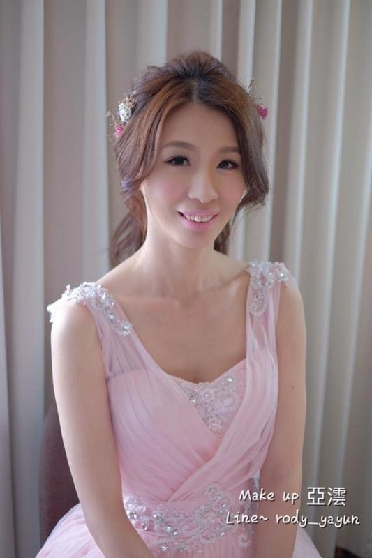(編號:418918) - 亞澐 Wedding 新娘秘書 整體彩妝 - 結婚吧