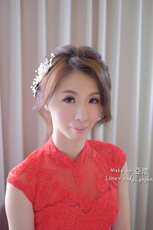 (編號:418933) - 亞澐 Wedding 新娘秘書 整體彩妝 - 結婚吧