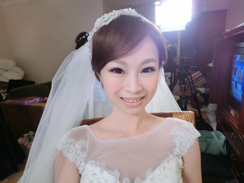 (編號:418970) - 亞澐 Wedding 新娘秘書 整體彩妝 - 結婚吧