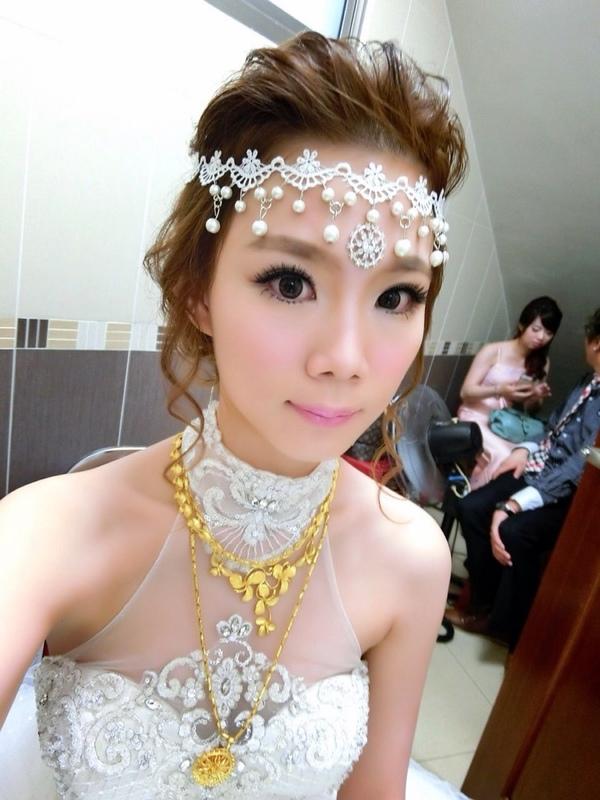 (編號:418982) - 亞澐 Wedding 新娘秘書 整體彩妝 - 結婚吧
