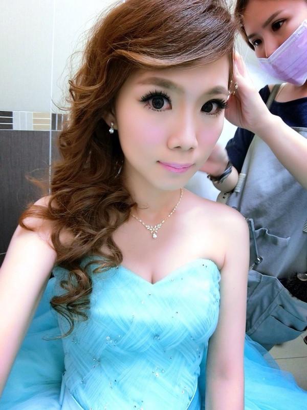 (編號:418993) - 亞澐 Wedding 新娘秘書 整體彩妝 - 結婚吧