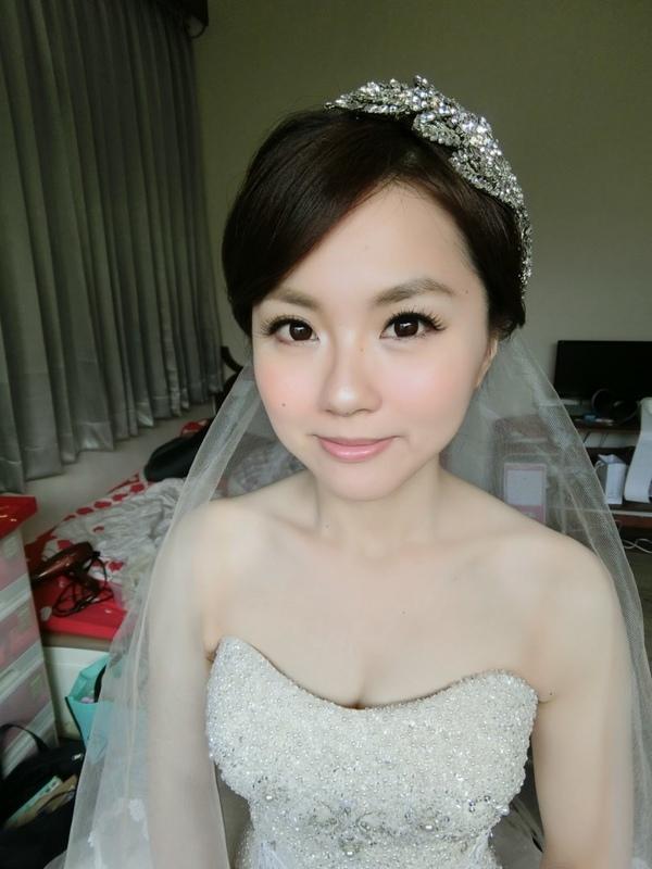 (編號:419046) - 亞澐 Wedding 新娘秘書 整體彩妝 - 結婚吧