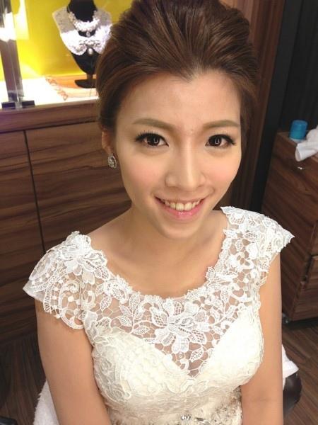 (編號:419620) - 亞澐 Wedding 新娘秘書 整體彩妝 - 結婚吧
