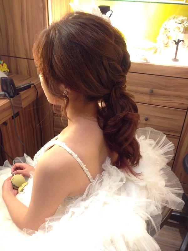 (編號:419625) - 亞澐 Wedding 新娘秘書 整體彩妝 - 結婚吧
