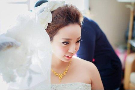 台南 鄭妙妙/新娘秘書彩妝造型師~雅惠新娘迎娶造型