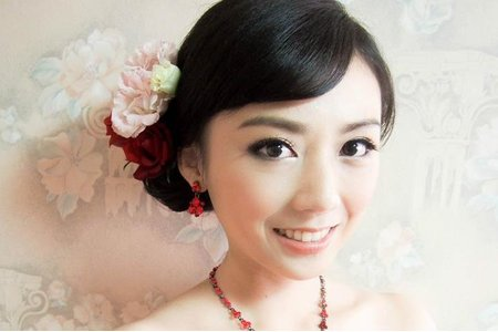 台南 鄭妙妙/新娘秘書彩妝造型師 旻璇新娘造型