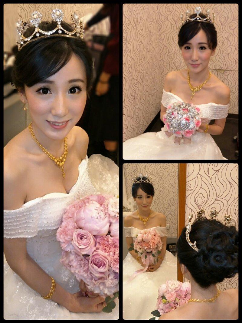 小葳新娘造型師作品
