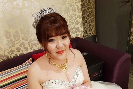VIVIAN新娘秘書整體造型-玉玫公主