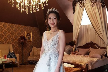 VIVIAN新娘秘書整體造型-舒盈公主