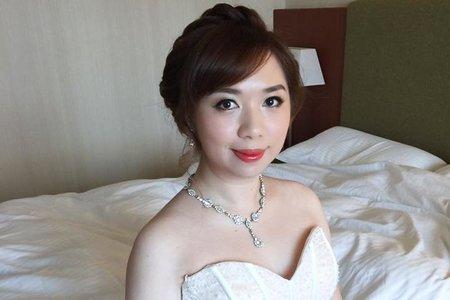 VIVIAN新娘秘書整體造型-噴槍彩妝
