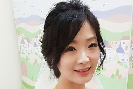 VIVIAN 蘇蓉蓉新娘秘書整體造型。北大。樹林。三峽