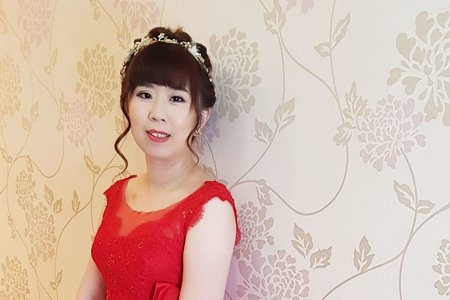 VIVIAN蘇蓉蓉新娘秘書。整體造型。富基