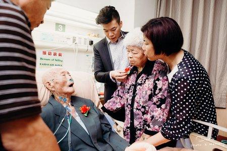 安寧病房的婚禮 女攝影師小迪Dee