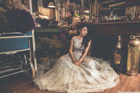 Vintage婚紗造型