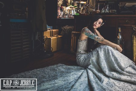Vintage個性古董婚紗