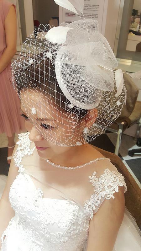 歐式紗帽白紗造型(編號:427474) - 薇之Monica。幸福的旅程 - 結婚吧