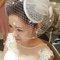 歐式紗帽白紗造型(編號:427474)