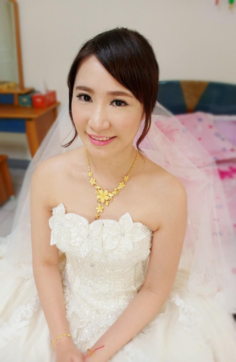 韓式甜美結婚造型(頤品大酒店)(編號:427492) - 薇之Monica。幸福的旅程 - 結婚吧