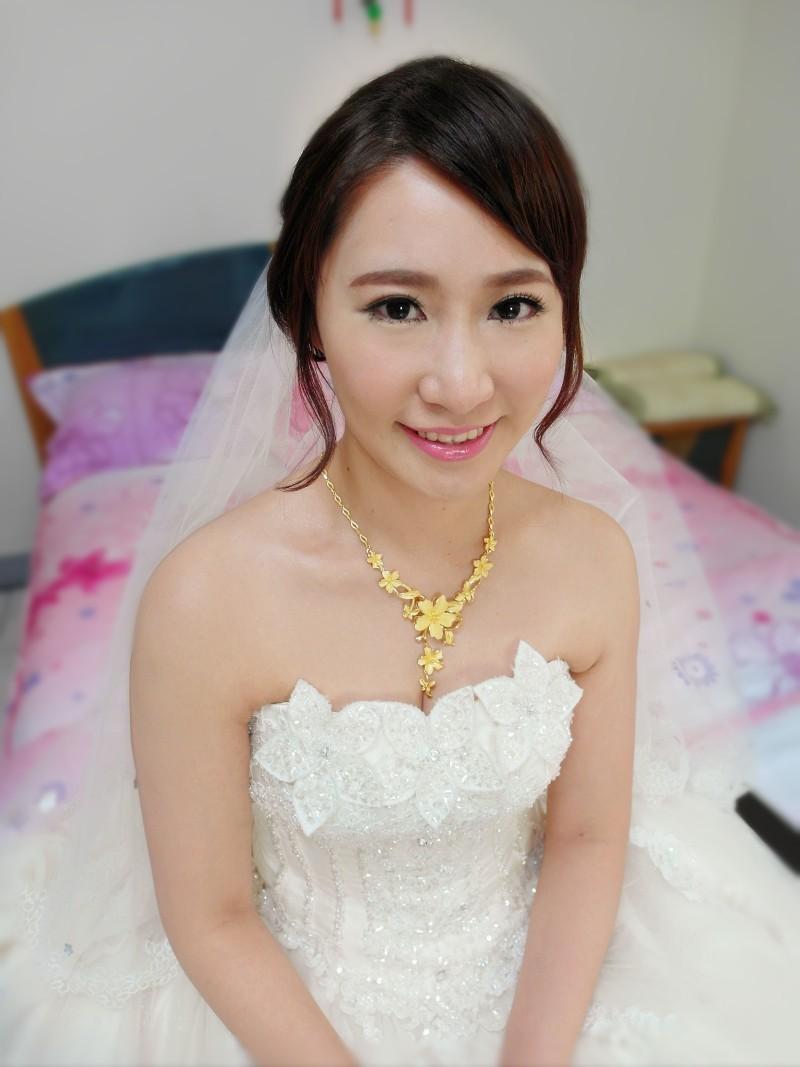 韓式甜美結婚造型(頤品大酒店)(編號:427493) - 薇之Monica。幸福的旅程 - 結婚吧