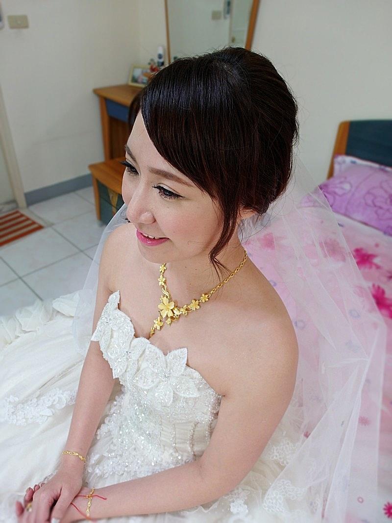 韓式甜美結婚造型(頤品大酒店)(編號:427494) - 薇之Monica。幸福的旅程 - 結婚吧
