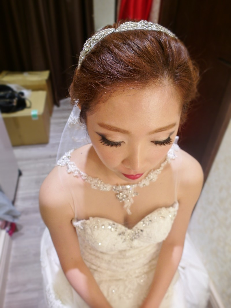歐美時尚個性白紗造型~JUDY(編號:427521) - 薇之Monica。幸福的旅程 - 結婚吧