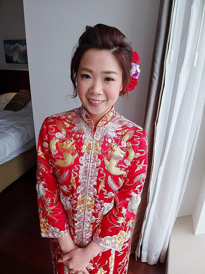 香港結婚儀式-素華 (裙掛)(編號:427540) - 薇之Monica。幸福的旅程 - 結婚吧