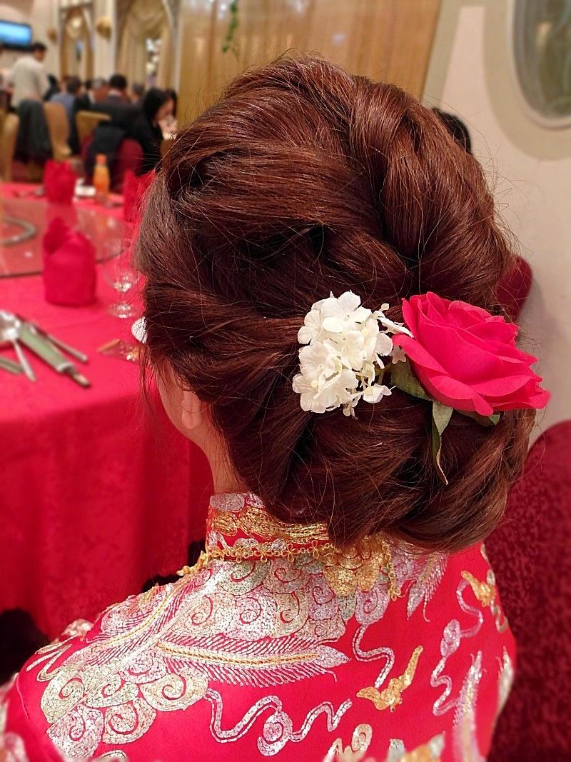 香港結婚儀式-素華 (裙掛)(編號:427542) - 薇之Monica。幸福的旅程 - 結婚吧