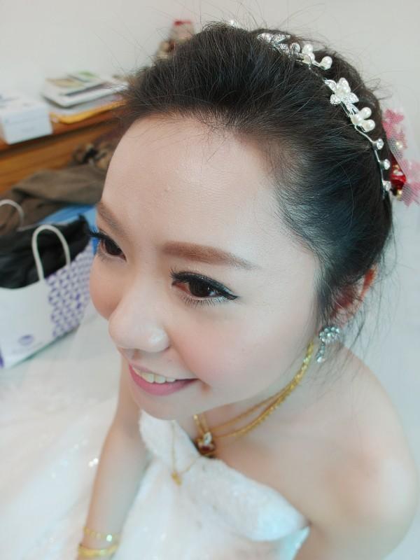 甜美白紗進場造型~怡禎 (青青會館)(編號:427592) - 薇之Monica。幸福的旅程 - 結婚吧