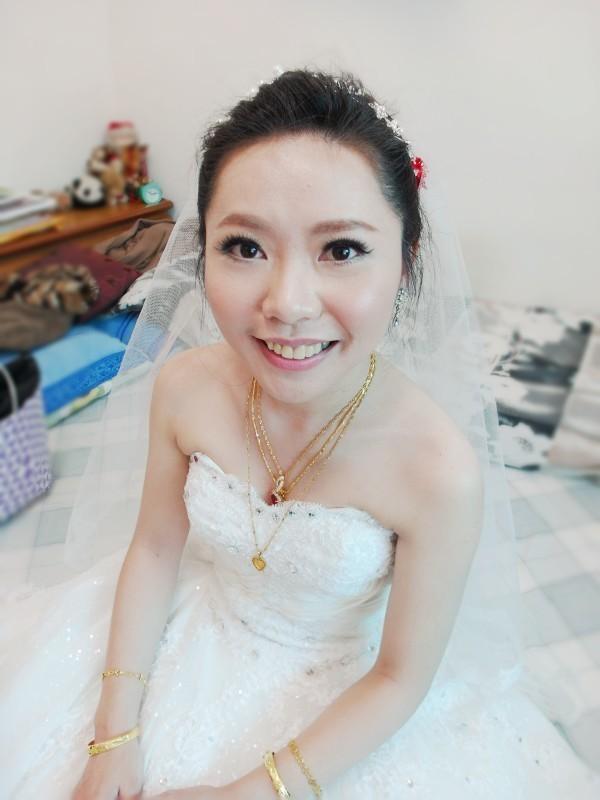 甜美白紗進場造型~怡禎 (青青會館)(編號:427593) - 薇之Monica。幸福的旅程 - 結婚吧