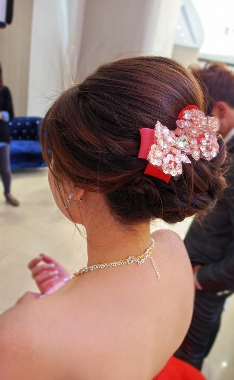 甜美俏麗送客造型-紅禮服(編號:427599) - 薇之Monica。幸福的旅程 - 結婚吧