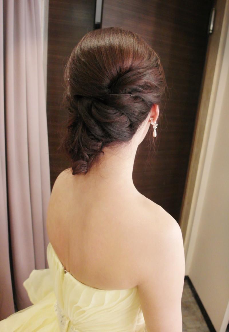 俏麗鵝黃禮服敬酒造型(彭園)(編號:427607) - 薇之Monica。幸福的旅程 - 結婚吧