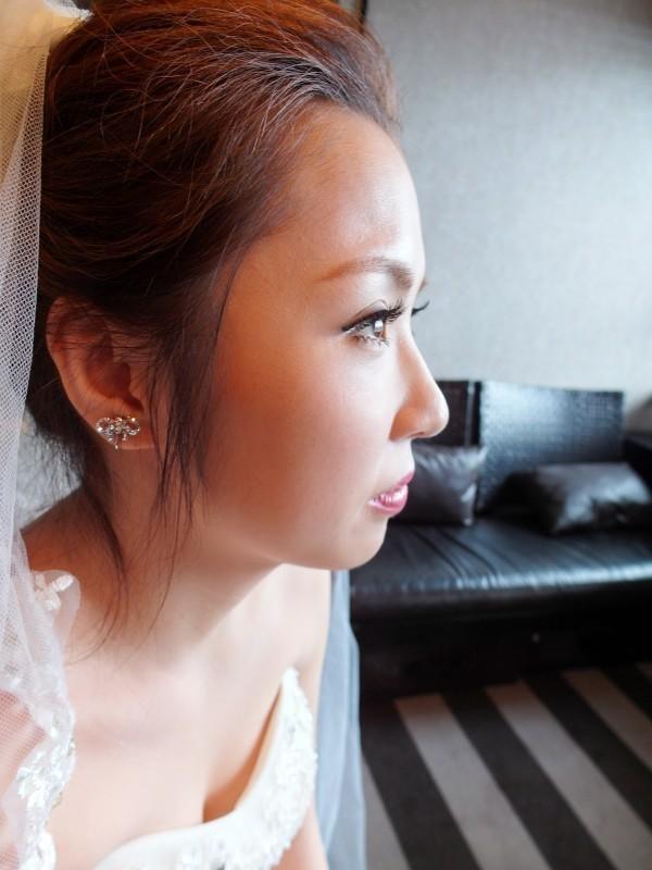 甜美典雅白紗造型~韓國新娘 保保 (世貿三三會館)(編號:427640) - 薇之Monica。幸福的旅程 - 結婚吧