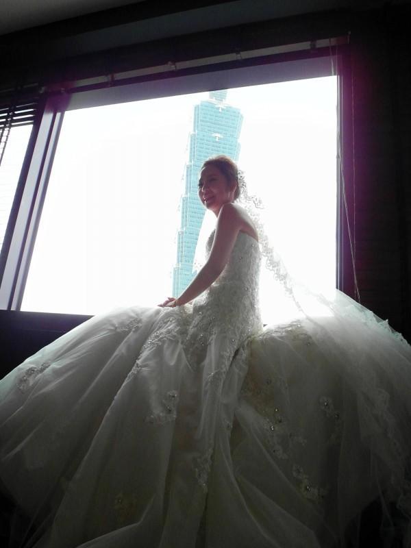 甜美典雅白紗造型~韓國新娘 保保 (世貿三三會館)(編號:427642) - 薇之Monica。幸福的旅程 - 結婚吧