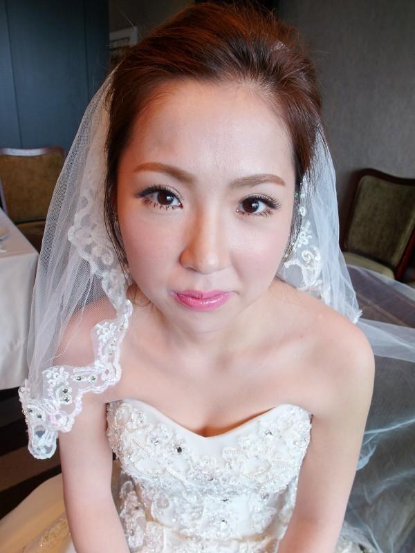甜美典雅白紗造型~韓國新娘 保保 (世貿三三會館)(編號:427643) - 薇之Monica。幸福的旅程 - 結婚吧
