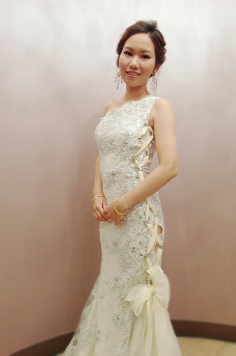 歐美自然盤髮送客造型(編號:427659) - 薇之Monica。幸福的旅程 - 結婚吧