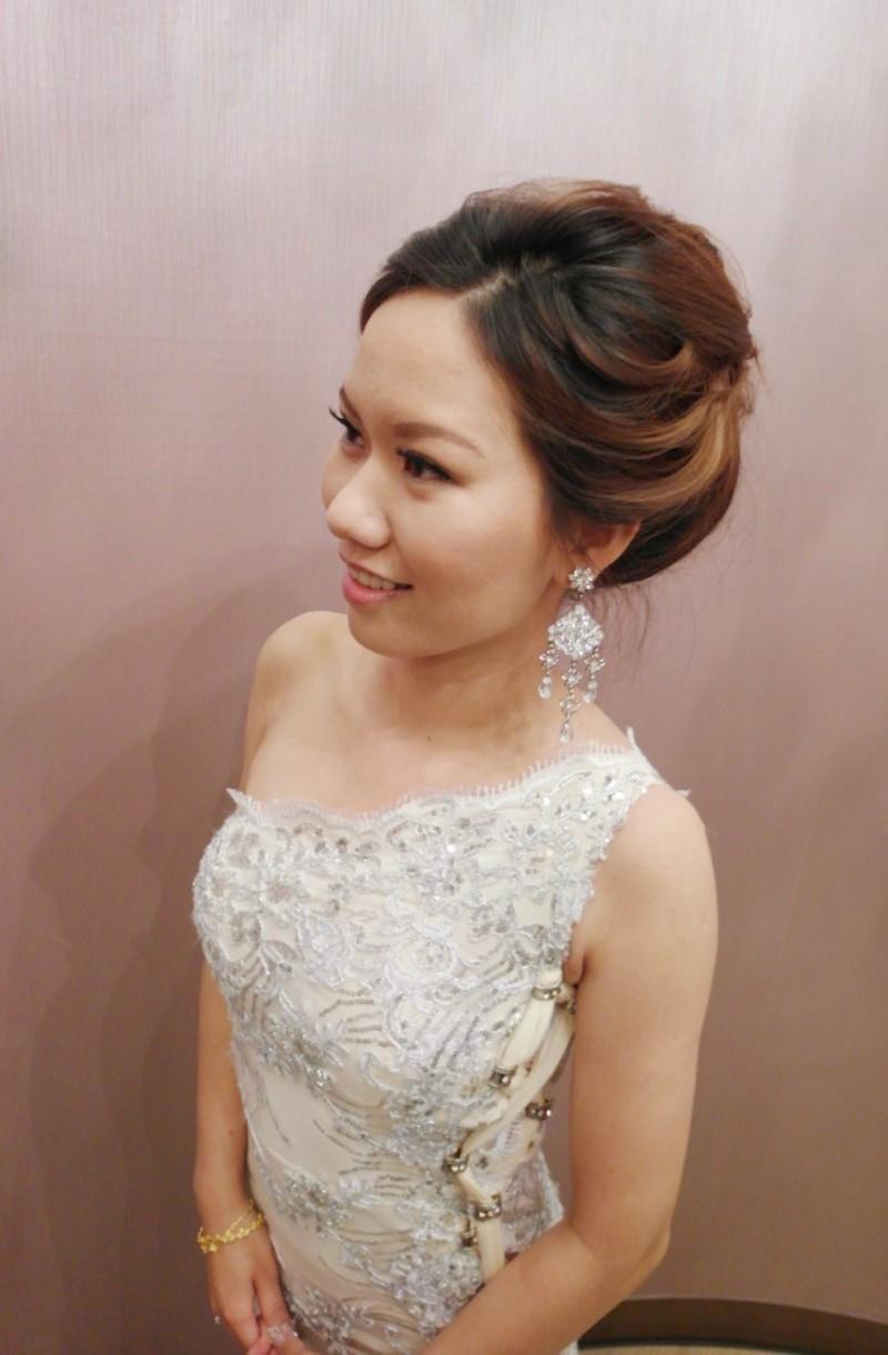 歐美自然盤髮送客造型(編號:427660) - 薇之Monica。幸福的旅程 - 結婚吧