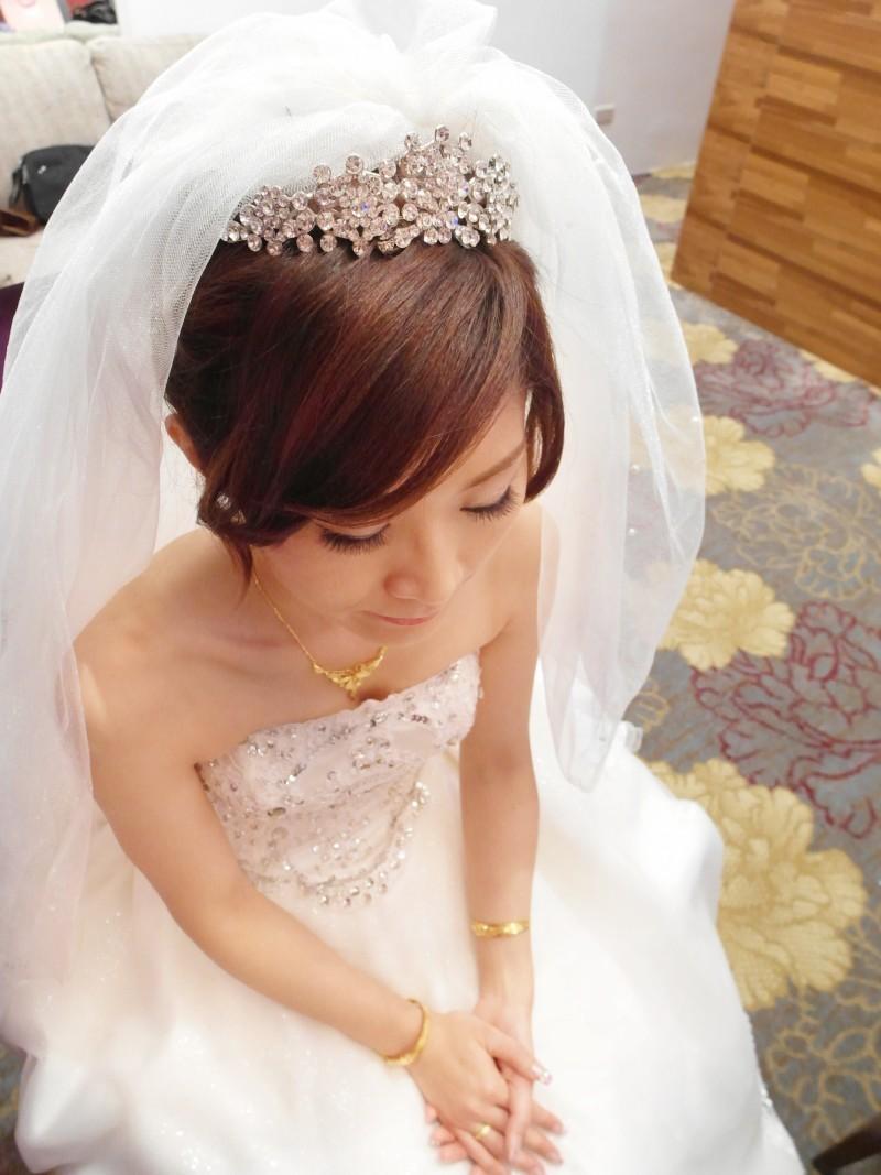 白紗皇冠造型(全國麗園餐廳)(編號:427668) - 薇之Monica。幸福的旅程 - 結婚吧
