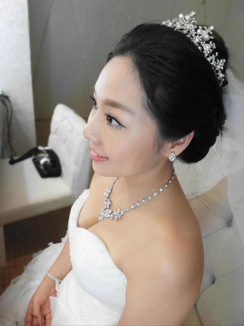時尚華麗白紗造型(晶宴會館)(編號:427673) - 薇之Monica。幸福的旅程 - 結婚吧