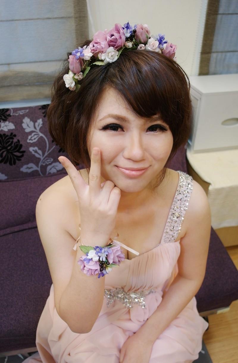 浪漫田園風~紅寶石 (短髮新娘)(編號:427681) - 薇之Monica。幸福的旅程 - 結婚吧