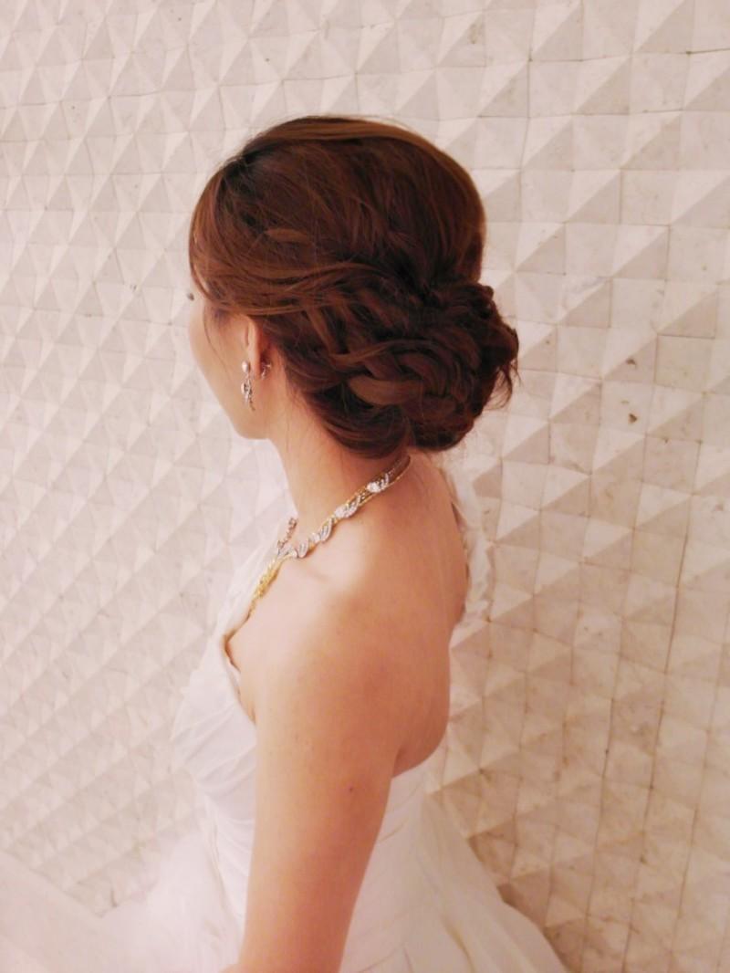 赫本白紗造型(編號:427683) - 薇之Monica。幸福的旅程 - 結婚吧