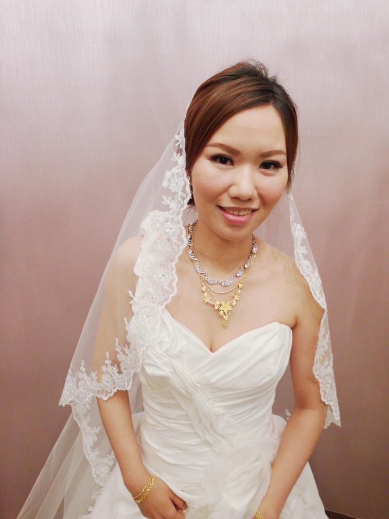 赫本白紗造型(編號:427685) - 薇之Monica。幸福的旅程 - 結婚吧