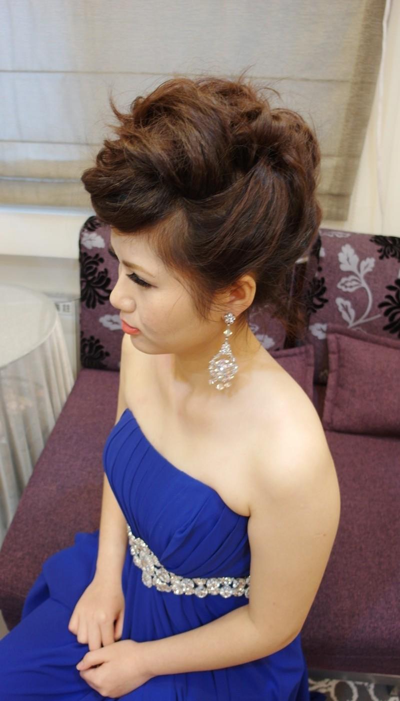 時尚龐克晚宴造型~紅寶石(短髮新娘)(編號:427695) - 薇之Monica。幸福的旅程 - 結婚吧
